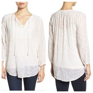 🔮 NWT LUCKY BRAND | Embroidered Blouse